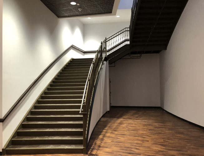 Cyclorama staircase