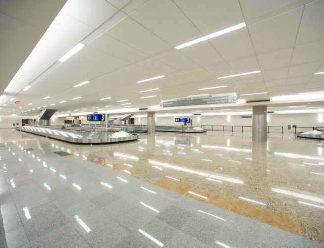 Maynard Jackson International Terminal Baggage Claim Area