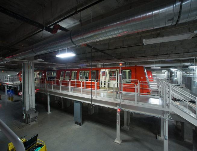 Maynard Jackson International Terminal, Train Track