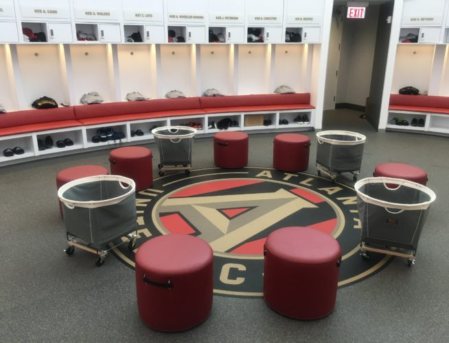 Atlanta United interior Training Center