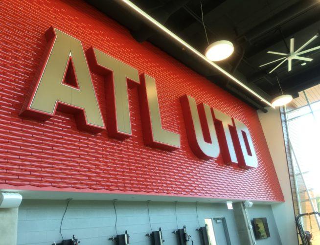 Atlanta United interior logo